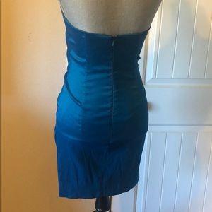 Cache Dresses - Cache dress formal short mini crystal dance teal